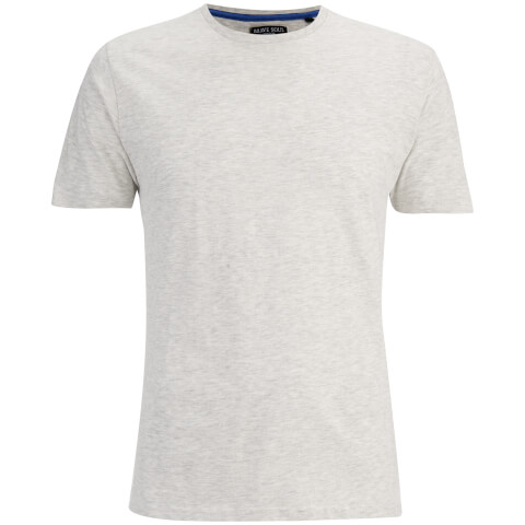 Brave Soul Men's Grail T-Shirt - Ecru Marl
