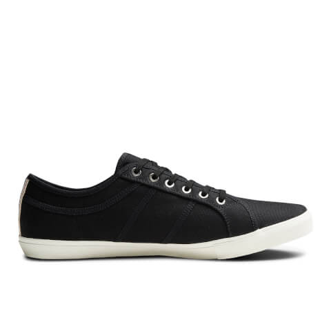 Chaussures Tennis en Toile Homme Ross Pre Jack & Jones - Gris Anthracite
