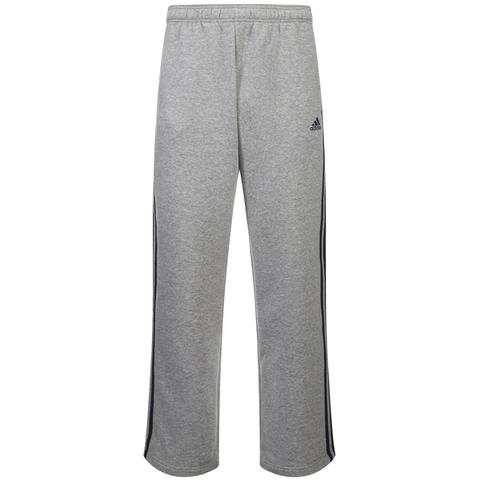 Pantalon Essential 3 Stripe pour Homme Adidas -Gris Chiné