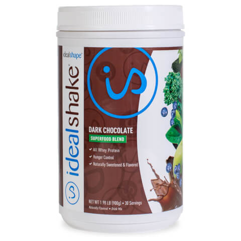 IdealShake Superfood Blend Dark Chocolate Stevia Sweetened