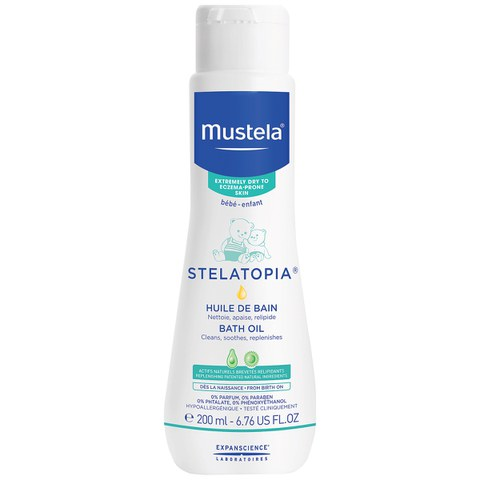 Mustela Bath Oil for Dry Skin 10.1 oz.