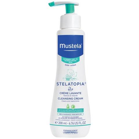 Mustela Stelatopia Cleansing Cream for Eczema-Prone Skin 6.7 oz.