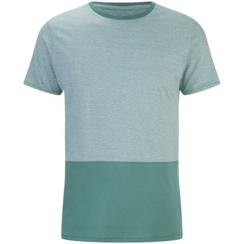Threadbare Men's Corning Panel T-Shirt - Sea Green
