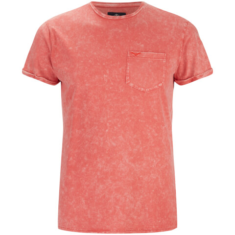 Threadbare Men's Eureka Pocket T-Shirt - Coral
