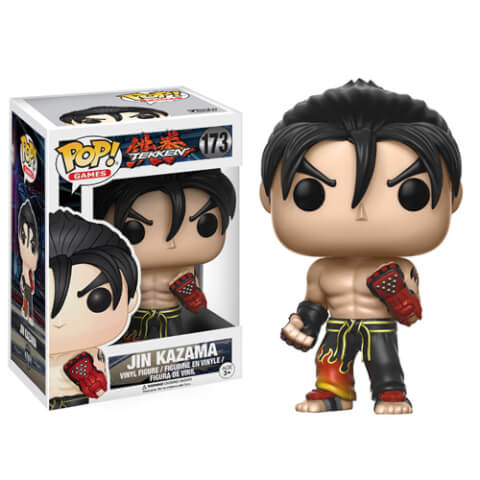 Tekken Jin Pop! Vinyl Figure