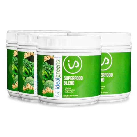 IdealGreens Superfood Blend 4 Tubs