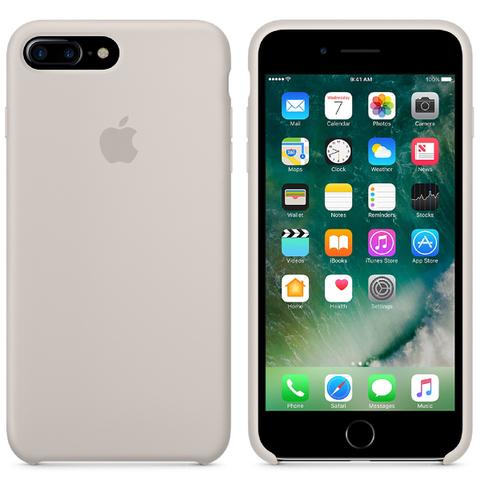 Étui en Silicone pour iPhone 7 Plus -Gris Beige