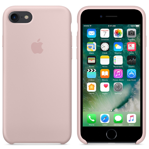Apple iPhone 7 Silicone Case - Pink Sand