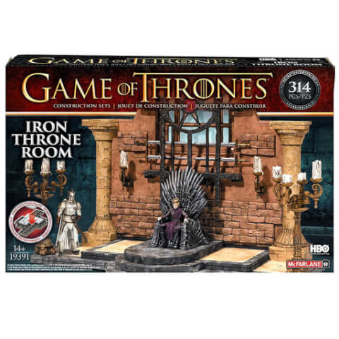 Game Of Thrones Throne Room Construction Set
