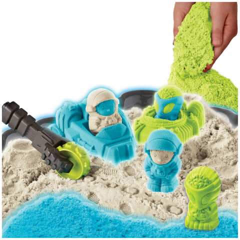 Cra-Z-Sand Glow in the Dark Space Playset