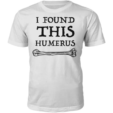 Humerus Slogan T-Shirt - White