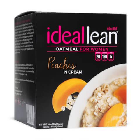 IdealLean Oatmeal - Peaches n Cream