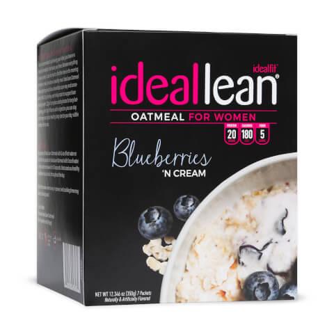 IdealLean Oatmeal - Blueberries n Cream