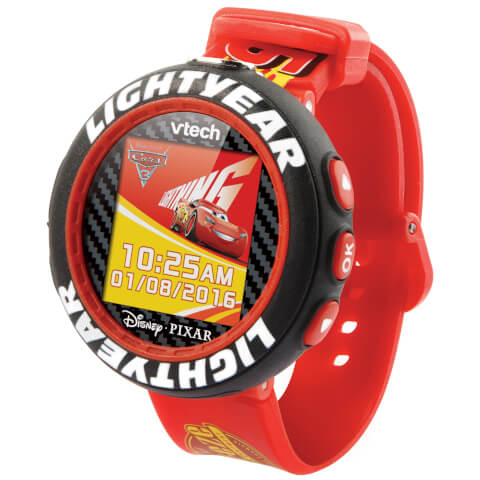 Vtech Disney Cars Lightning McQueen Camera Watch