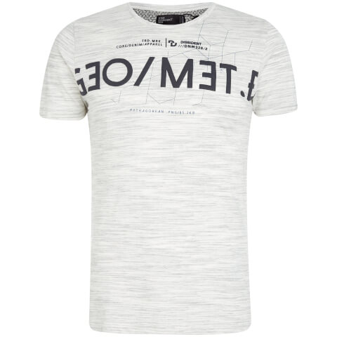 Dissident Men's Octagon T-Shirt - Ice Grey