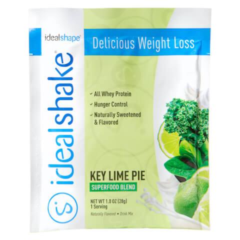 IdealShake Super Key Lime Sample