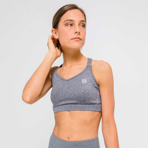 XS - Core Sports Bra - Grey