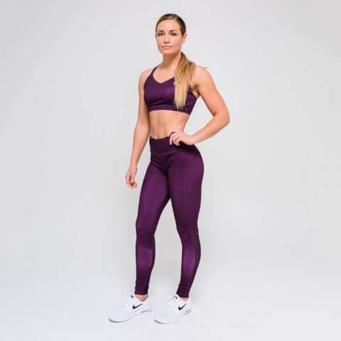 M - Core Full Length Leggings - Dark Berry