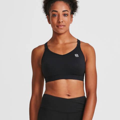 IdealFit Core Sports Bra - Black