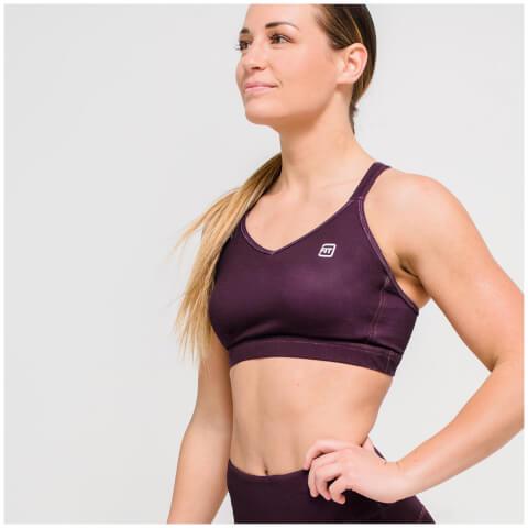 IdealFit Core Sports Bra - Dark Berry