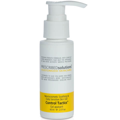 PRESCRIBEDsolutions Control Tactics Neurocosmetic Soothing and Daily Sensitive Skin Gel