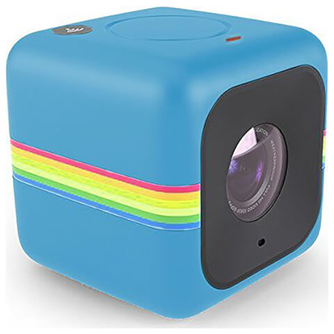 Polaroid Cube+ 1440p Mini Lifestyle Wi-Fi Action Camera - Blue