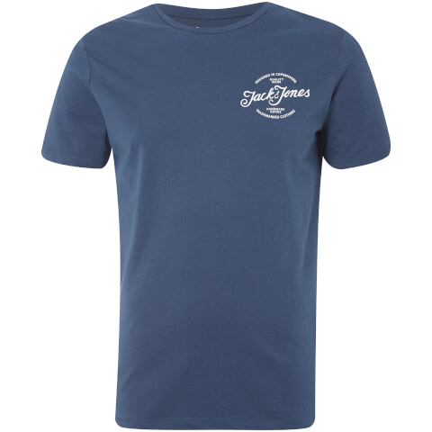 T-Shirt Homme s Originals Liam Jack & Jones - Bleu