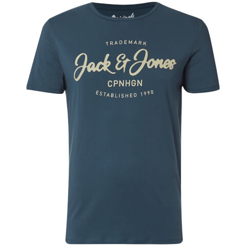 Jack & Jones Men's Originals Traffic T-Shirt - Ensign Blue