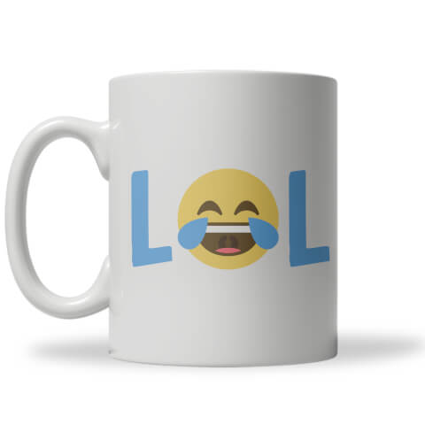 Lol Emoji Mug