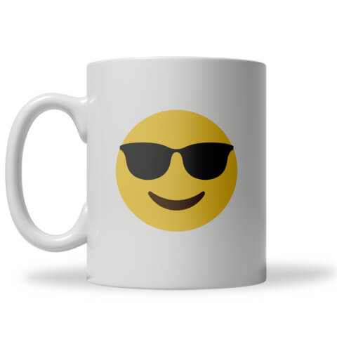 Cool Dude Emoji Mug