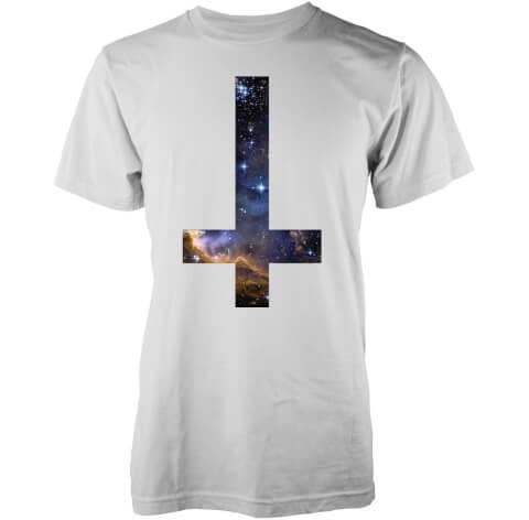 Abandon Ship Men's Cosmic Cross T-Shirt - White