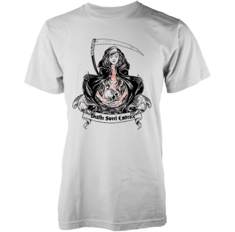 Abandon Ship Men's Sweet Embrace T-Shirt - White