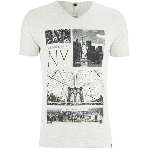 T-Shirt Homme Fibonacci Smith & Jones -Gris Clair