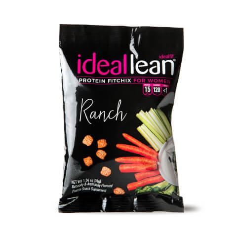 IdealLean Protein FitChix Snacks - Ranch