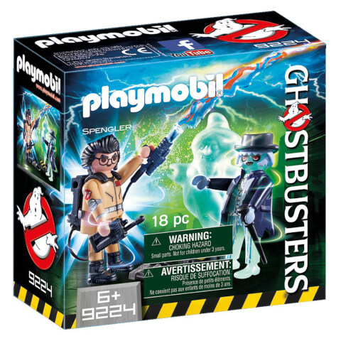 Playmobil Ghostbusters™ Spengler with Ghost (9224)