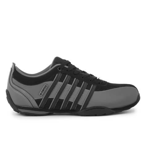 K-Swiss Men's Arvee 1.5 Trainers - Black/Charcoal/Silver
