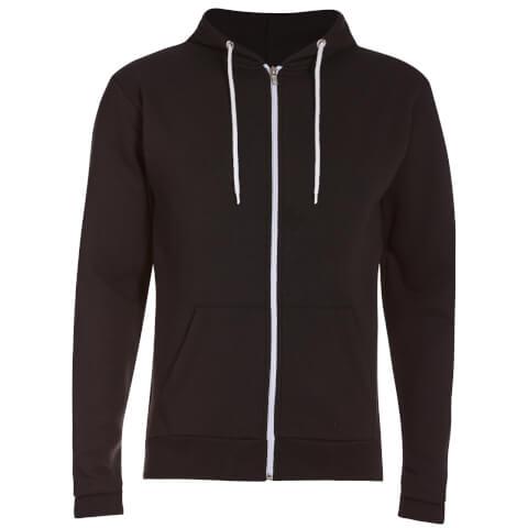 Advocate Men's Berkley Zip Through Hoody - Black