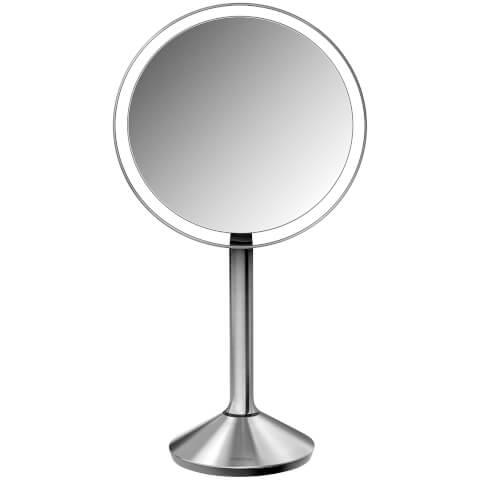 simplehuman Stainless Steel Rechargeable Sensor Mirror 16.5cm