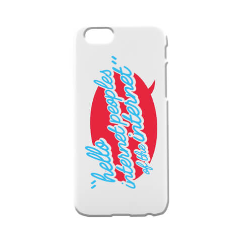 Coque pour iPhone and Android Taurtis Hello Internet Peoples