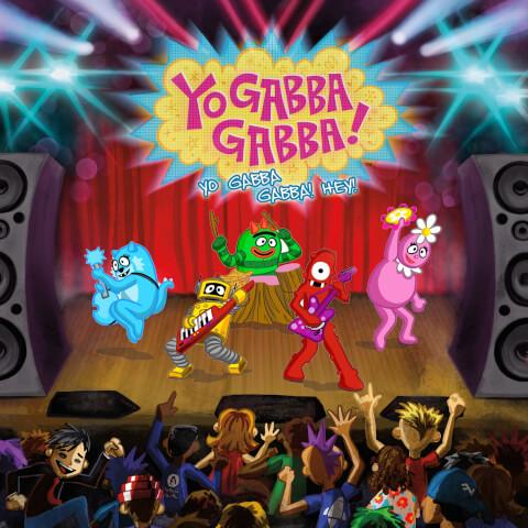 Yo Gabba Gabba - Yo Gabba Gabba Hey! Zavvi Exclusive Vinyl