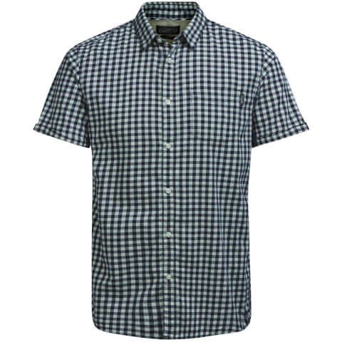 Jack & Jones Men's Originals Jamey Short Sleeve Shirt - Cloud Dancer