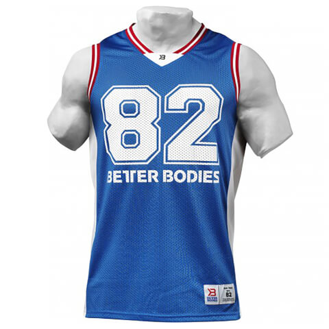 Better Bodies Tip-Off Tank Top - Bright Blue