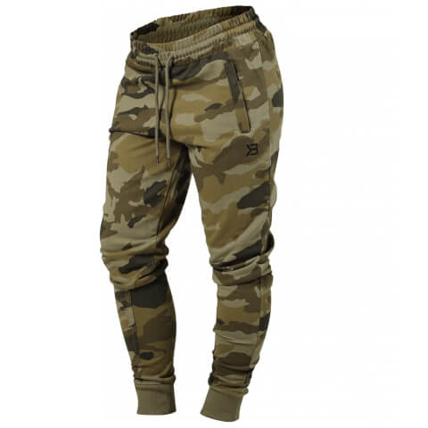 Better Bodies Jogger Sweatpants - Dark Green Camo