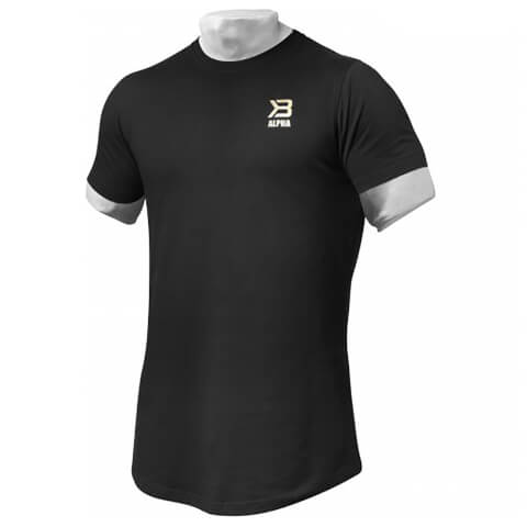 Better Bodies BB Alpha Zip T-Shirt - Black