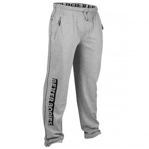 Better Bodies Gym Sweatpants - Grey Melange