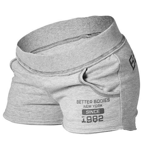 Better Bodies Rough Sweatshorts - Grey Melange