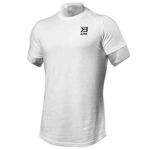 Better Bodies BB Alpha Zip T-Shirt - White