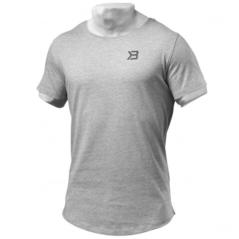Better Bodies Hudson T-Shirt - Grey Melange
