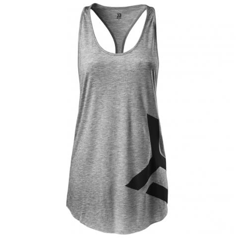 Better Bodies Chelsea T-Back Vest - Grey Melange