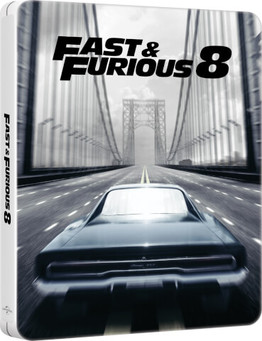 Fast & Furious 8: 4K Ultra HD - Zavvi Exclusive Limited Edition Steelbook (Includes 2D Version + Digital Download)